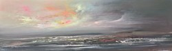 Turbulent Seas III by Philip Raskin -  sized 26x8 inches. Available from Whitewall Galleries
